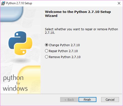 Adding Python to the PATH on windows